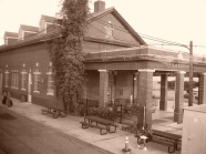 The Longview train station.