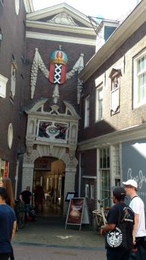 The Amsterdam museum.